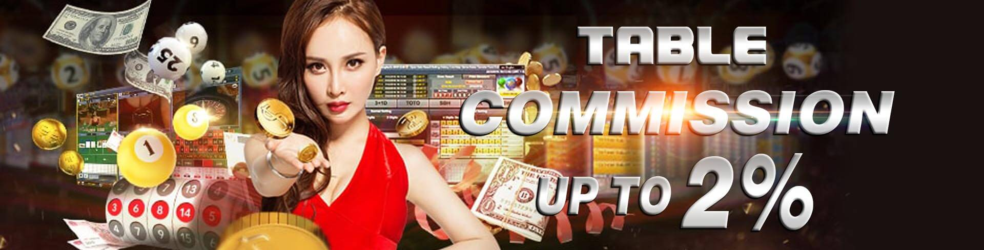 bagi anda pecinta poker online, 333gaming memberikan promo table commission hingga 2% kepada semua member setia judi poker online